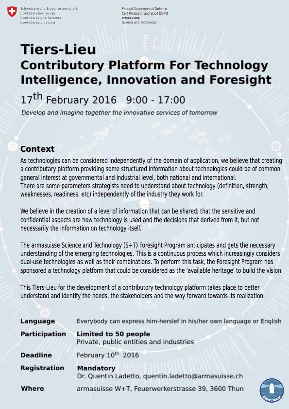 TiersLieu_TechnologyPlatform_17_February_2016