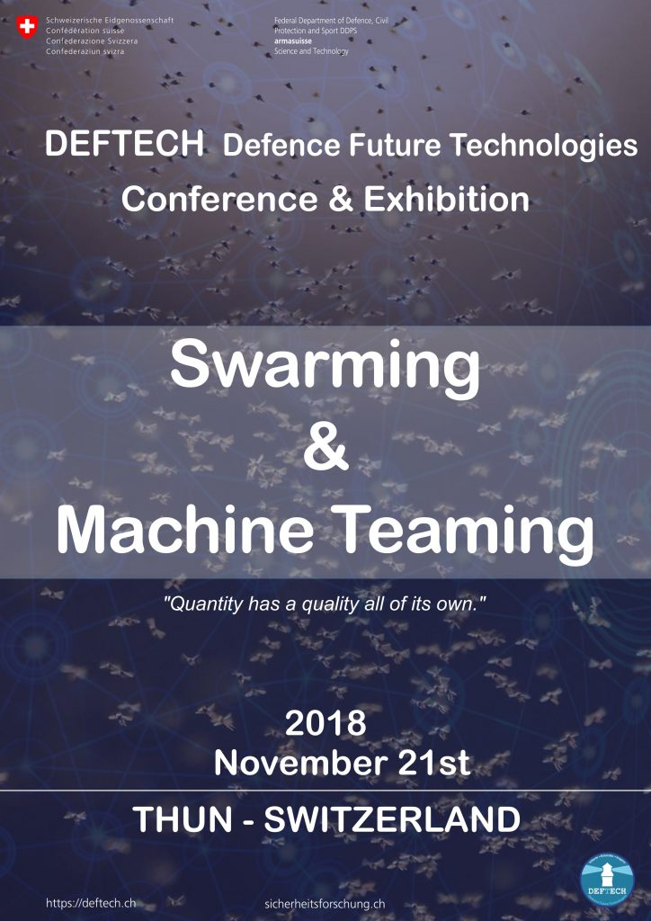 DEFTECH_Swarming-and-Machine-Teaming__21_November_2018