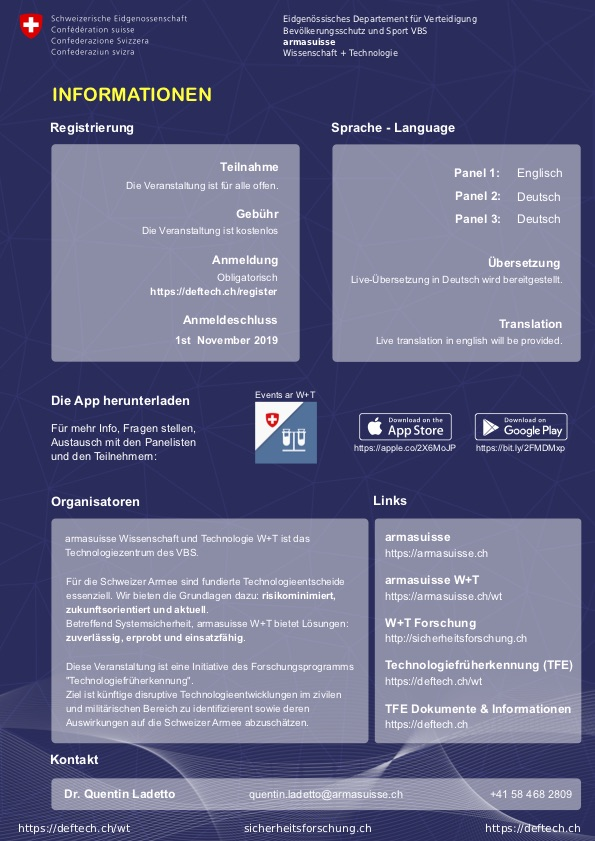 Information_DEFTECH-Schweizer-Innovationssystem-fuer-die-nationale-Sicherheit-13th-November-2019